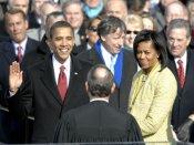 Barack Obama and Michelle Obama tweet one final time