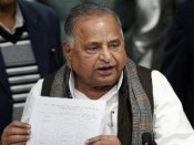 Mulayam Showing The Candidates List