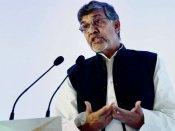 Stay away from violence: Satyarthi tells children in Kashmir