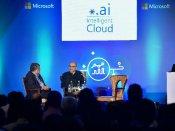 Satya Nadella launches Aadhaar-based Skype Lite