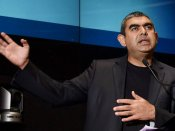 Vishal Sikka calls Narayana Murthy an 'incredible man'