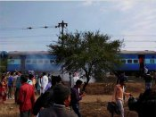 Reports of suitcase bomb as nine injured in train explosion in Madhya Pradesh