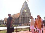 Narendra Modi offers prayers at Somnath temple