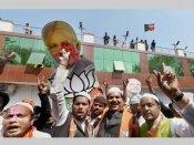 BJP celebrates UP, Uttarakhand win