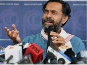Delhi MCD election results 2017: Yogendra Yadav mocks AAP's EVM <i>bahana</i>