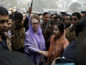 Zia accuses Hasina of selling out Bangladesh to India to stay in power