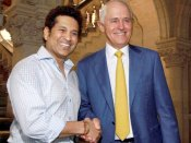 When Australian PM Malcolm Turnbull visited TCS, met Sachin Tendulkar in Mumbai