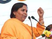 Sadhvi Pragya a great saint, don't compare me with her, says Uma Bharti