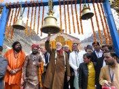 Narendra Modi offers prayers at Kedarnath temple in Uttarakhand