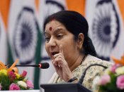 """""""India's daughter"""" thanks Sushma Swaraj after returning from Pakistan"""