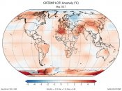 May 2017 was second hottest in 137 Years: NASA