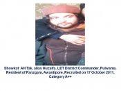 Operation wipeout: Dreaded Lashkar militant Junaid Mattoo killed