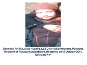 Lashkar's Junaid Mattoo killed with 2 terrorists by Indian Armed Forces