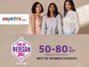 Myntra End Of Reason Sale (24 - 26 Jun) : Get Up To 50 - 80% Off*
