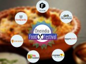 Oneindia Food Festival: 'BEGINS TODAY', Foodpanda, Faasos, Swiggy Upto 40% On Orders*