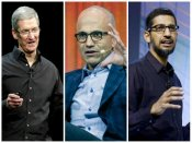 Modi to meet Tim Cook, Satya Nadella, Sundar Pichai today