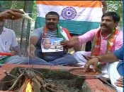 Presidential elections 2017: BJP supporters perform <i>havan</i> for Ram Nath Kovind in UP