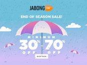 Jabong End Of Season Sale, Grab Minimum 30-70% Off* On Levi's, Park Avenue, Lee Cooper & more