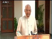 It is a very emotional moment for me: Ram Nath Kovind