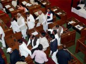 Despite ban, these lawmakers in UP assembly use paan, guthka
