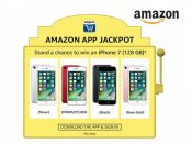 Amazon App Jackpot - Win an iPhone 7 (128 GB) in Red, Black, Silver or Rose Gold*