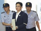 Samsung heir Lee Jae-Yong jailed for five years on bribery charges