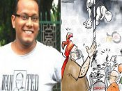 Cartoonist receives death threat over his drawing 'linking Modi' with Gorakhpur tragedy