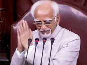 Ansari looking for political shelter: BJP on 'insecurity among Muslims' remark