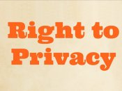 Privacy is fundamental right: Government's double standards now exposed