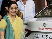 'Rescue me', tweets Pune man to Sushma Swaraj after watching SRK film