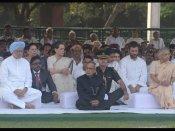 Rajiv Gandhi's birth anniversary: PM, Senior leaders, family pay tribute to former PM