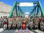 Defence Min Nirmala Sitharaman inaugurates 'Pratham-Shyok' bridge in Leh