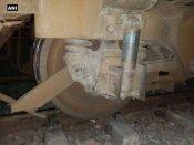 Uttar Pradesh: Passenger train's engine derails in Sitapur
