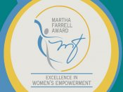 Second Martha Farrell award for excellence in women's empowerment announced