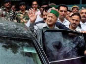 Ex-HP CM Virbhadra Singh seeks exemption from appearance in money-laundering case