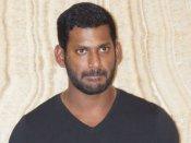 GST intelligence agency raids Tamil actor Vishal