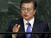 South Korea's Moon Jae-In says will not develop nuclear weapons