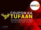 COUPON KA TUFAAN: Winter at Jabong, Upto 70% + Extra 15% Now*