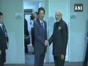 ASEAN summit: Modi, Abe discuss ways to strengthen strategic cooperation