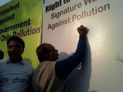Bjp's Vijay Goel slams Arvind Kejriwal on Delhi Pollution