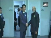 ASEAN summit: Modi, Abe discuss ways to strengthen strategic cooperation