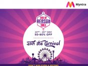 Myntra End Of Reason Sale With Savings! Upto 80% Off*