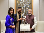 Virat Kohli, Anushka Sharma call on PM Modi, invite him for wedding reception