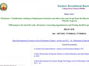 TNTRB government polytechnic college lecturers recruitment written results withdrawn