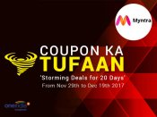 MYNTRA! Try & Buy Everything At Just Re. 1*