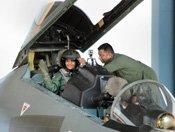 PHOTOS: Raksha Mantri Nirmala Sitharaman Flies In IAFs Sukhoi 30 MKI