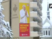WEF 2018: From billboards to delicacies, India present all over at Davos