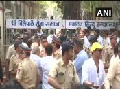 Sridevi cremated with State Honours, thousands say bye