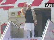 Modi embarks on three nation visit to Palestine, Oman and UAE