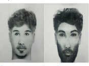 Delhi police release sketches of accused who gunned down Congress worker